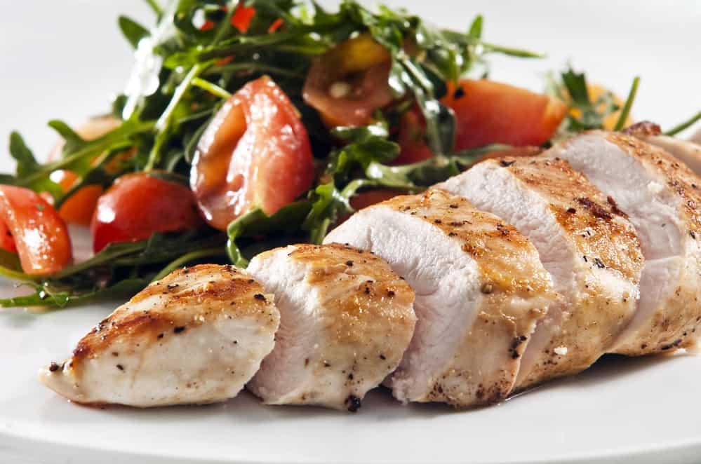 Keto Diet Chicken Meal