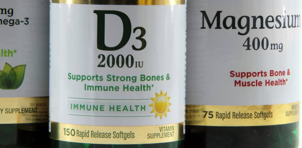 Vitamin D3 and Magnesium