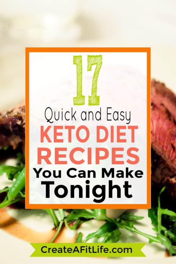 Easy Ket Recipes