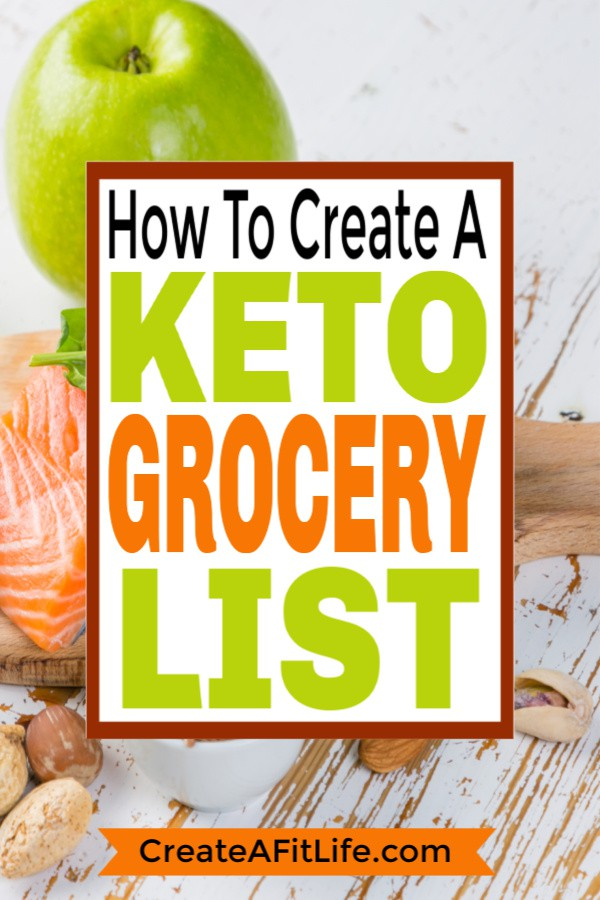 Keto Grocery List