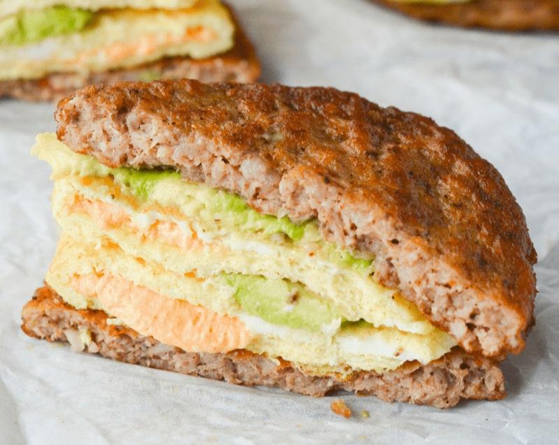 Cheap Keto Breakfast Sandwich