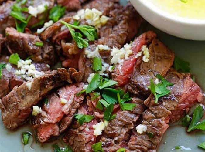 Garlic Butter Brazilian Steak