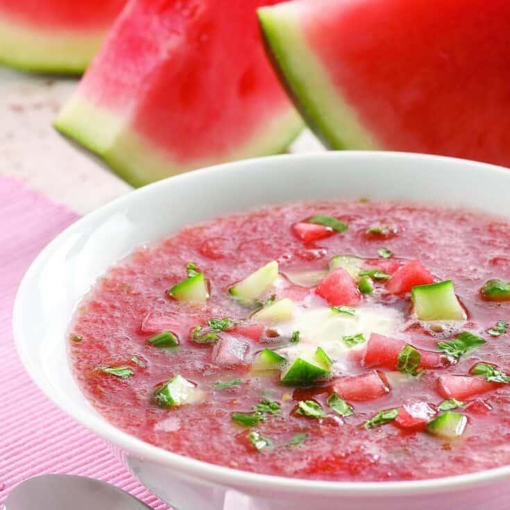 Chilled Melon Soup Recipe