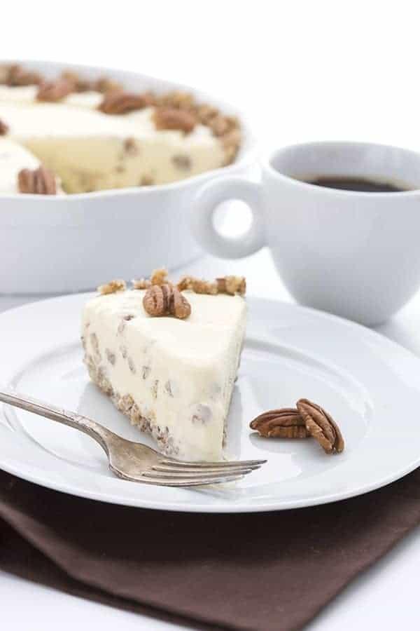 Butter Pecan Ice Cream Pie