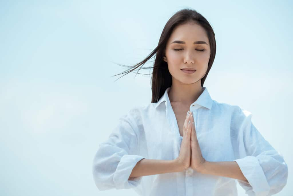 Namaste Pose