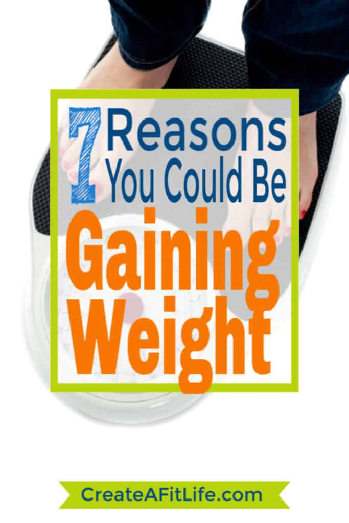 reasons gaining weight