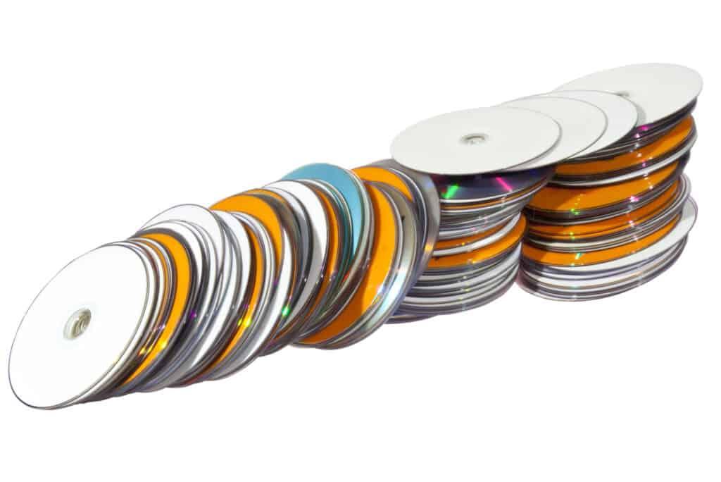 CDs DVDs Books
